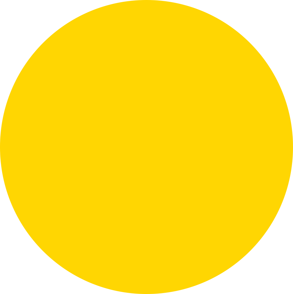 big yellow circle for call-out